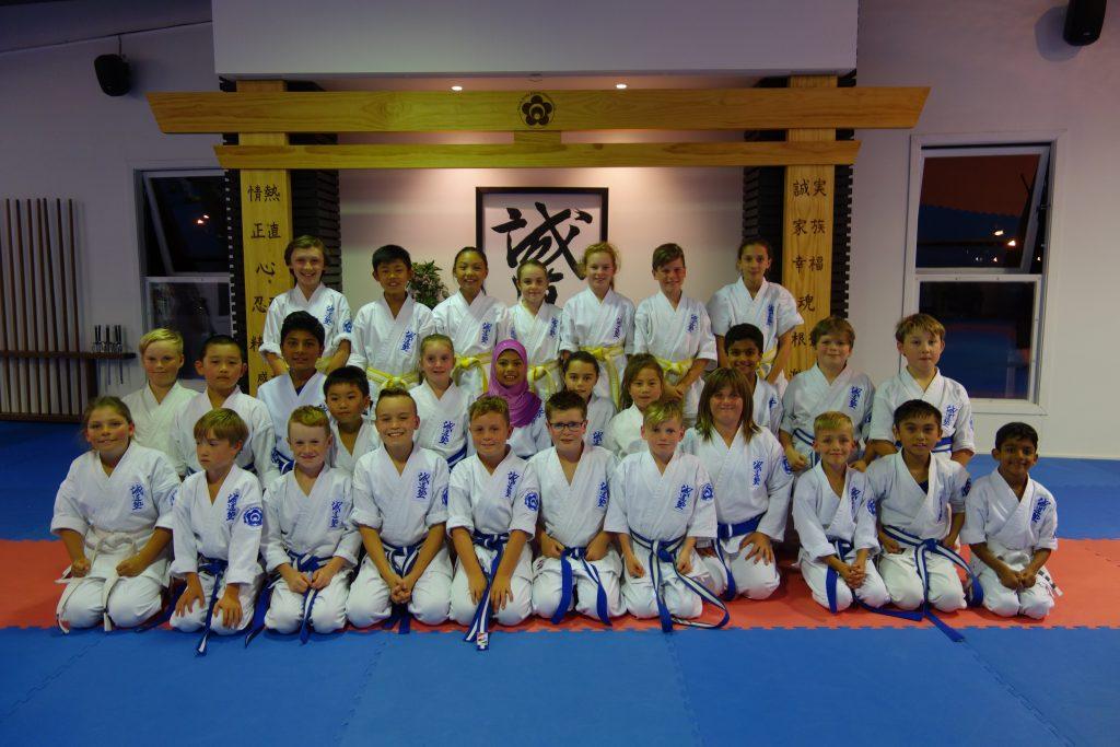 Dojo Junior Academy Group 2016